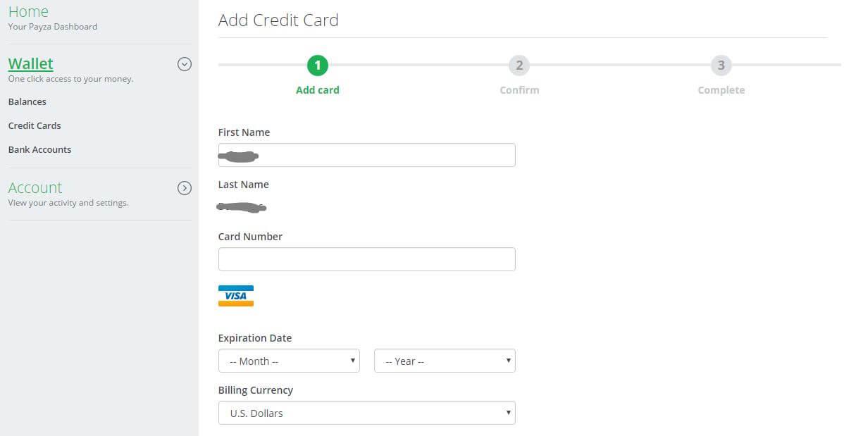 Hướng dẫn đăng ký và verify tài khoản Payza
